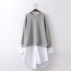 Honeybee Cotton Sweatshirt Dress