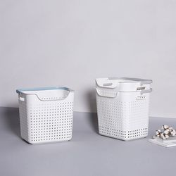 북유럽 디자인 빨래 보관함 세탁 바구니