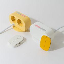 [버터 단품] 무선제어 멀티탭