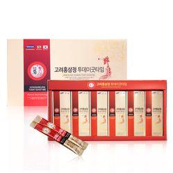 고려홍삼정 투데이굿타임 대용량 홍삼스틱 15g X 60포 선물포장