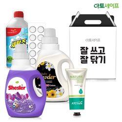 선물세트 (쉬슬러 로즈마리+파우더+손소독제+세탁조)