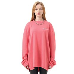 LAMO signature long sleeve T-shirt (Pink)