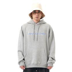 LAMO heritage oversized hoodie (Gray)