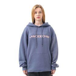 LAMO heritage oversized hoodie (Blue)