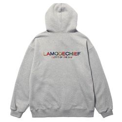 LAMO logo hoodie for ootd (Gray)