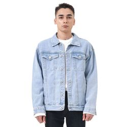Regular denim jacket (Lightblue)