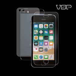 아이폰5/5s 강화유리 액정+무광블랙 후면필름 1매