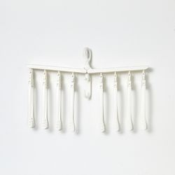 공간활용 접이식건조대 옷걸이형8pcs