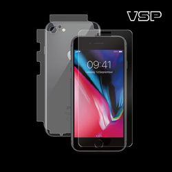 아이폰7/8 플러스 2.5D강화+무광블랙 측후면 1매 W
