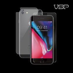 아이폰7/8 플러스 2.5D강화+무광블랙 후면필름 1매 B