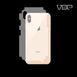 아이폰XS 무광블랙 측후면필름 2매
