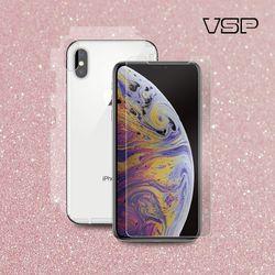 아이폰XS Max 3D유리+핑크스킨측후면+렌즈 유리 1매