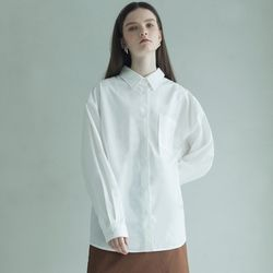 OVERFIT TWO-WAY SHIRT (WHITE)