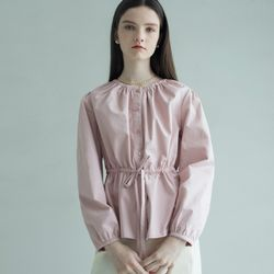 ALICE STRING BLOUSE (PINK)