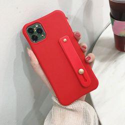 아이폰XS맥스 데일리 심플 파스텔 실리콘 케이스 P545