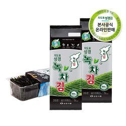 본사운영 재래 녹차조각김50g x 5봉