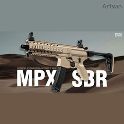 48000 MPX SBR 전동건 비비탄총