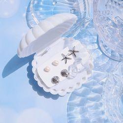 4set  여름바다 귀걸이세트
