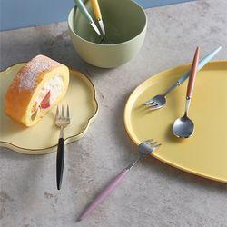 J TABLE 소소망고 실버 커트러리 티타임 (12colors)