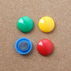 문구존 컬러 원형 자석 4p세트(3cm)