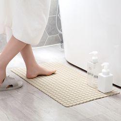 스퀘어 욕실 미끄럼방지 매트