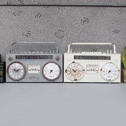 빈티지 라디오 시계 (2colors)