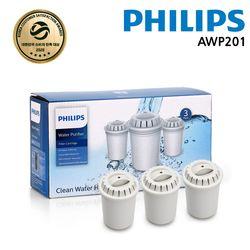 필립스 피쳐정수기 전용필터 3PC-AWP200