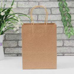 크라프트 종이쇼핑백 10p(15x8x21cm) (브라운)
