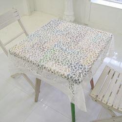 블루밍 자카드 레이스 테이블 커버 (사각) 120x160