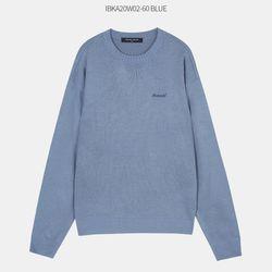 자수 포인트 스웨터 IBKA20W02