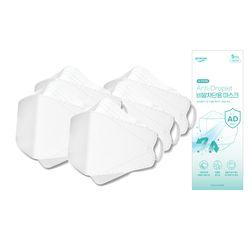 [더마테스트인증] KF-AD 식약처허가 의약외품 3D입체 비말차단 마스크  50매