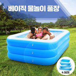 스윔어바웃 베이직 물놀이 풀장 간이수영장 중형