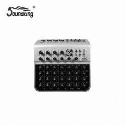 미니믹서 사운드킹 MINI MIXER MIX04-AU