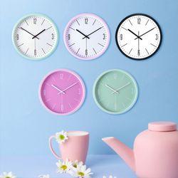 달콤포근 저소음 마카롱 시계