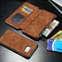 갤럭시S10 5G 2IN1 카드 지갑 가죽 케이스 P020