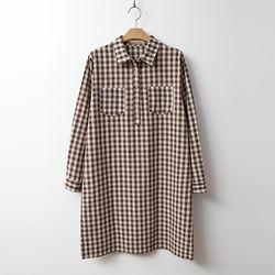 Gingham Check Mini Dress