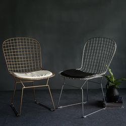 북유럽풍 와이어 의자