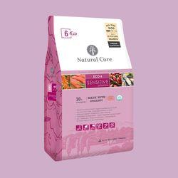 네츄럴코어 에코6 유기농센시티브연어 2.4kg애견사료