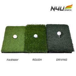 N4U(엔포유)골프 매트 N4U-GM002 3종류 고금 잔디 매트