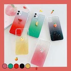 아이폰XS맥스 귀여운 심플 과일 젤리 케이스 P057