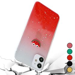 아이폰6S 귀여운 심플 과일 커버 젤리 케이스 P057