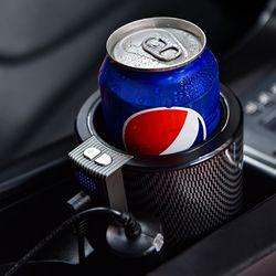 차량용 음료수 냉온 컵 홀더