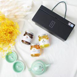 [단독제작] 프리미엄 꼬마 3종세트 ( 한라봉 + 오미자 + 꿀)