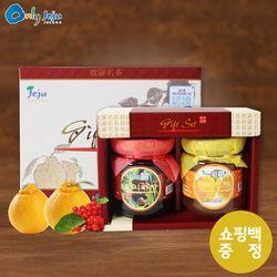 탐라 미니 꿀 차 2종세트 + 쇼핑백