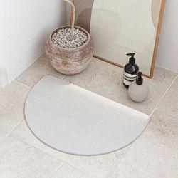 반원 디자인 규조토 발매트 욕실매트 대형 사포 포함