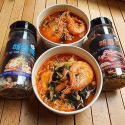 [무료배송] 캠핑음식 간단한캠핑요리 후레이크 해물쿡 매콤쿡