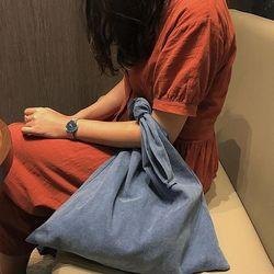 leeso 나나 에코백 - 딥블루