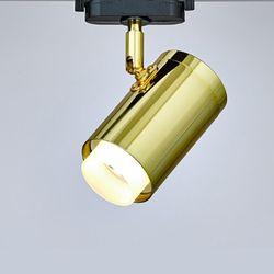 LED 디퓨전 COB 레일 8W 골드 레일등 카페 조명