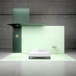 지누스 플래포마 저상형 침대 프레임 (퀸)