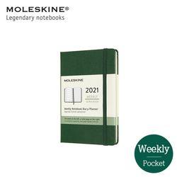몰스킨 2021 위클리 12M 다이어리 하드커버 포켓 머틀그린